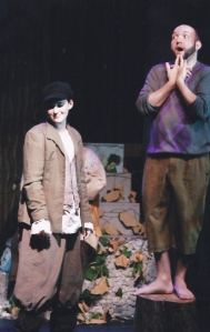 In case you're not sick of these shots yet; Rosalind and Touchstone from As You Like It... TALK about gender issues